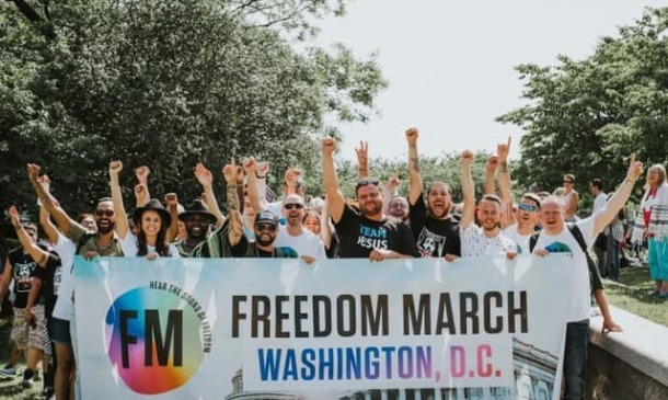'We are taking back the rainbow,' say members of ex-gay community