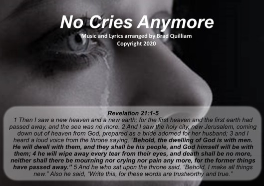 No Cries Anymore