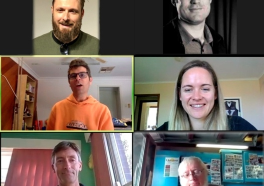 Christian Today Sport Writers met on Zoom